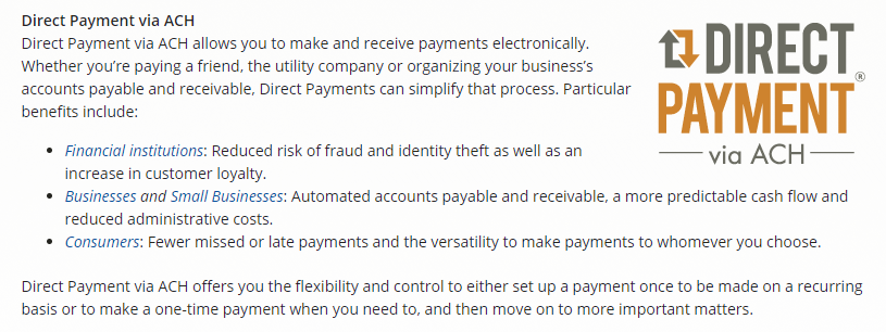 Accepting B2B payments using credit cards ,direct bank