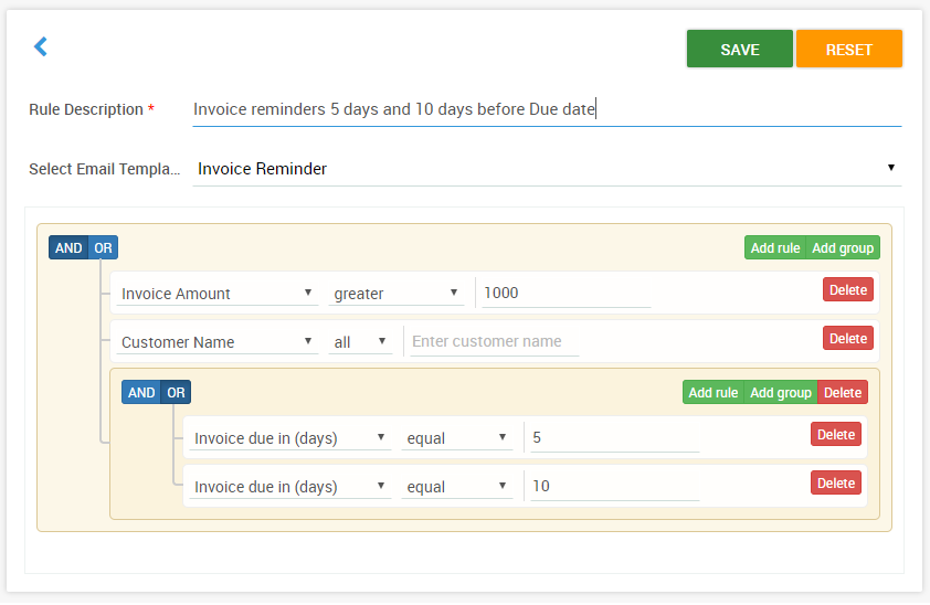 Automated Payment Reminder Work Flows And Credit Customers In Quickbooks - Quickbooks invoice reminders